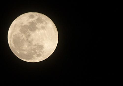 2008年2月21日の満月