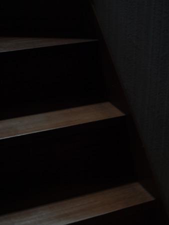 夜明け/階段