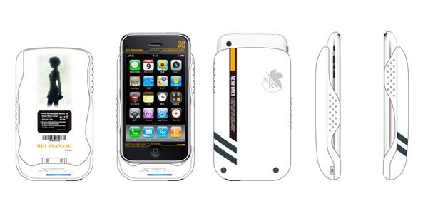 iPhoneケース レイモデル