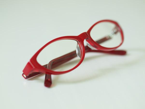 マリさんの眼鏡