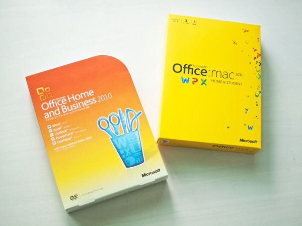 Microsoft Office 2010 and 2011