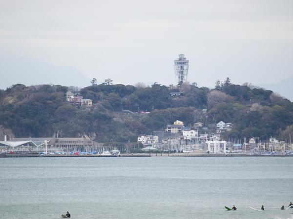 江ノ島の街並み
