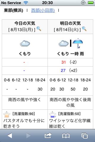 goo天気