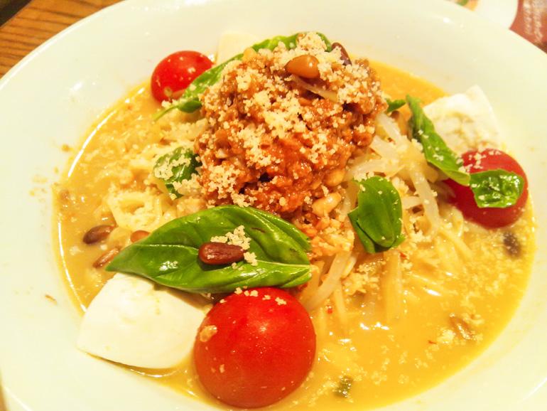 イタリアン風冷やし担々麺