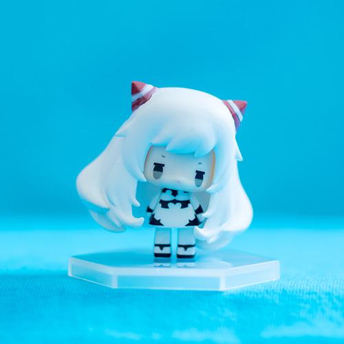 島風ちゃんの飛行場姫コスプレ