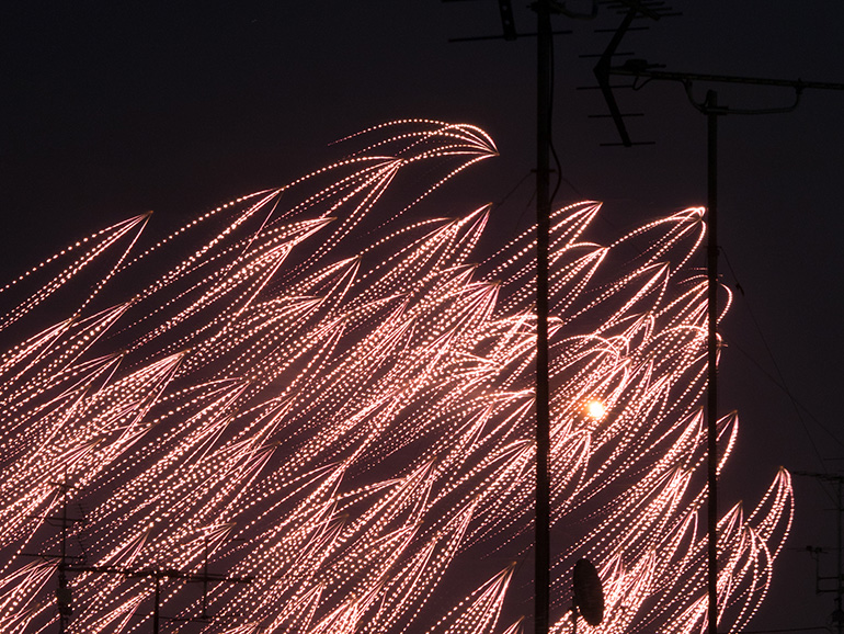 面白い花火