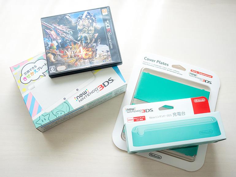 new 3DS とモンハン4G