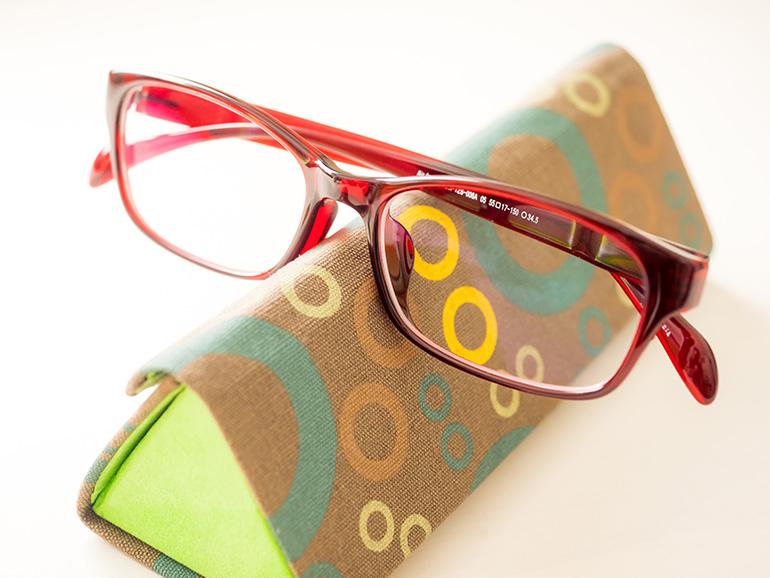 人生初の度付き眼鏡